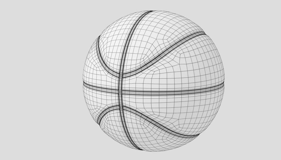 Sport di pallacanestro royalty-free 3d model - Preview no. 9