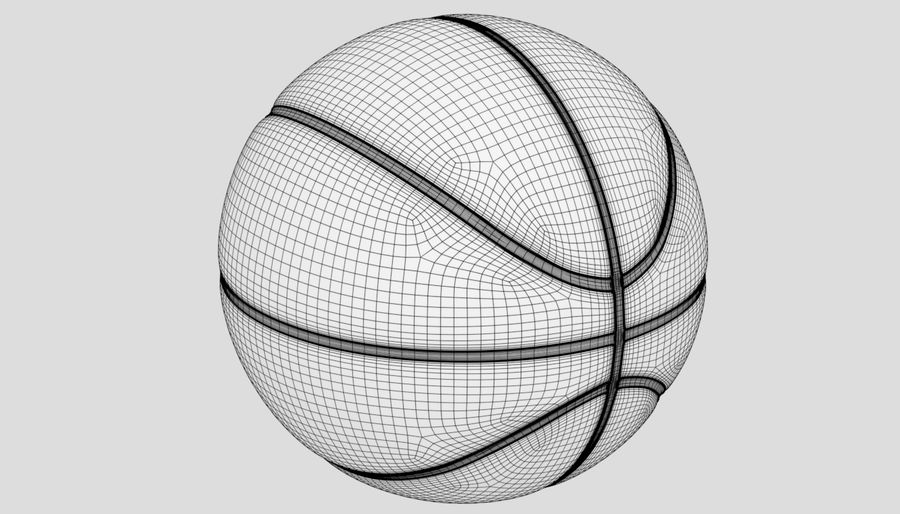 Sport di pallacanestro royalty-free 3d model - Preview no. 13