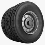 KLM Anti Icing Machine Wheel 3d model