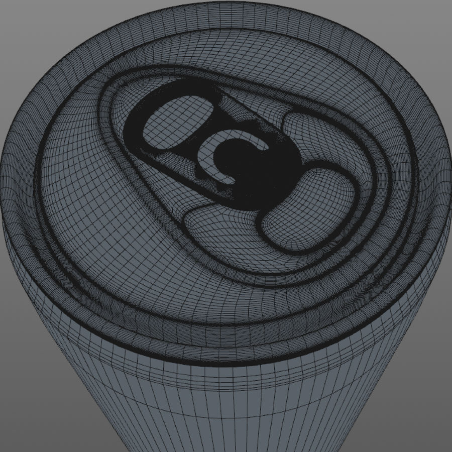 Soda can royalty-free 3d model - Preview no. 8