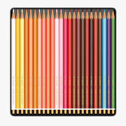 Färgade pennor 3d model