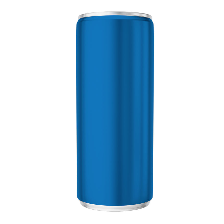 Soda can royalty-free 3d model - Preview no. 4