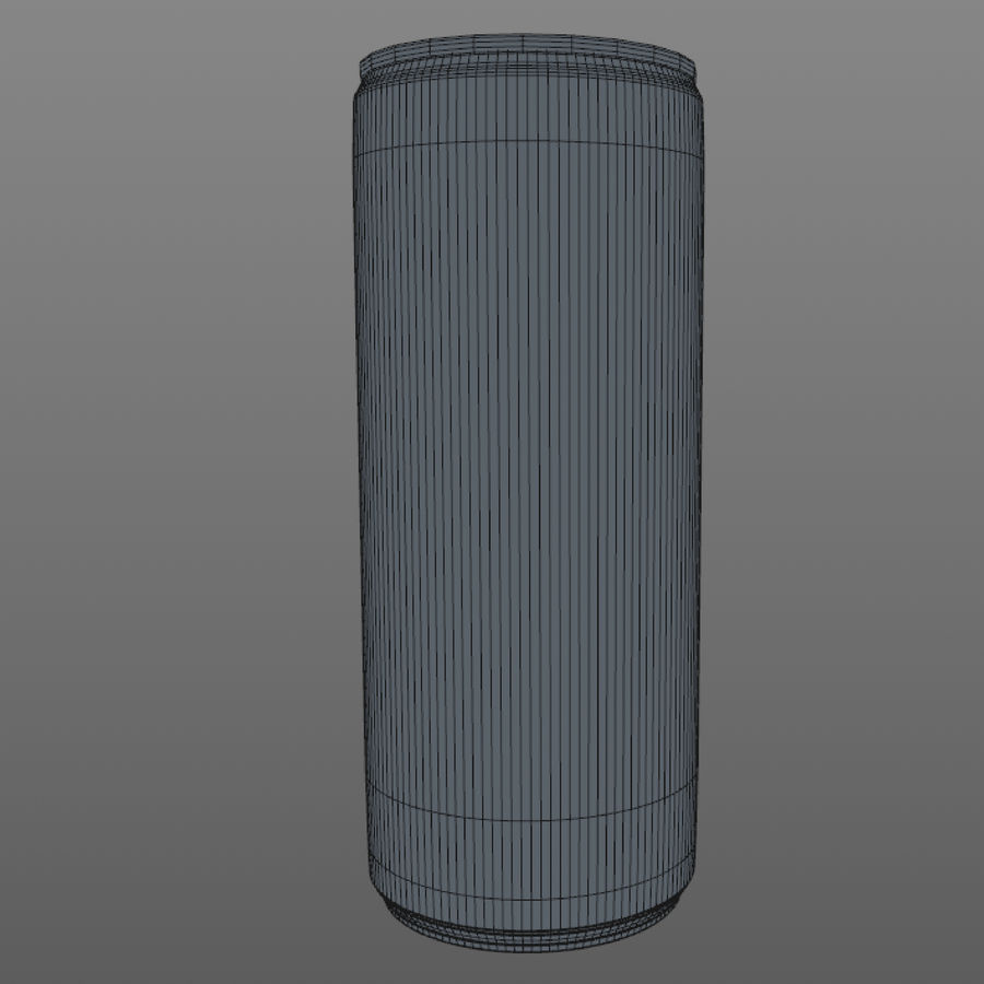 Soda can royalty-free 3d model - Preview no. 6