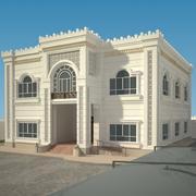Villa exterior modelo 3d