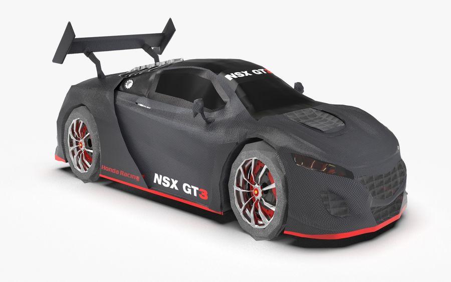 Modèle de base de voiture de course de sport royalty-free 3d model - Preview no. 2