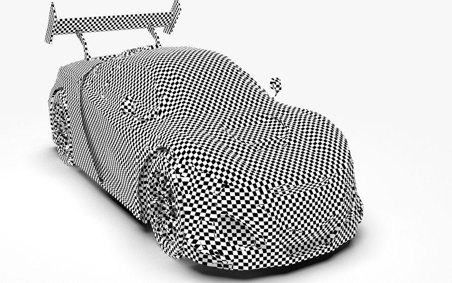 Modèle de base de voiture de course de sport royalty-free 3d model - Preview no. 6