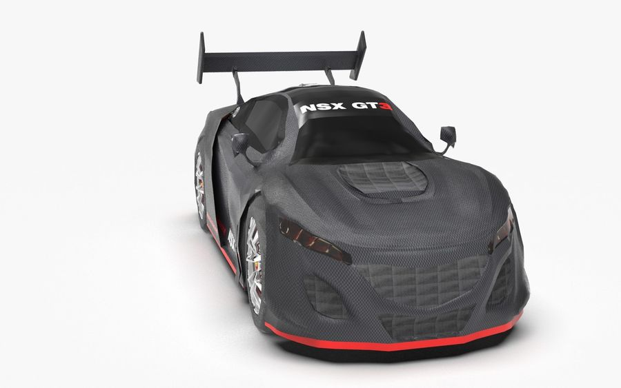 Modèle de base de voiture de course de sport royalty-free 3d model - Preview no. 1