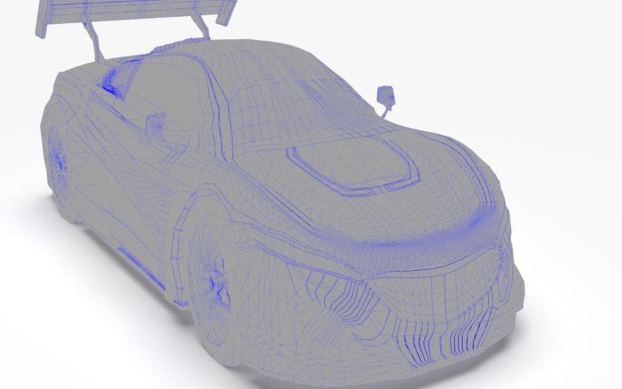 Modèle de base de voiture de course de sport royalty-free 3d model - Preview no. 8