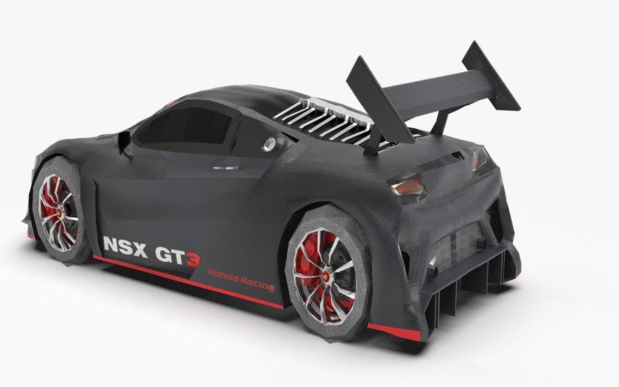 Modèle de base de voiture de course de sport royalty-free 3d model - Preview no. 4