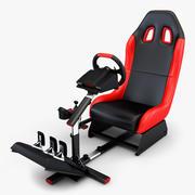 Racing Game Simulator v 1 3d model