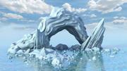 Góra lodowa 3d model
