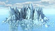 Iceberg V2 3d model