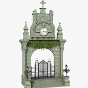 Fantasy Classic Gate 3d model