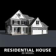Casa residenziale 3d model