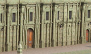 Classic Facade Building 3d model