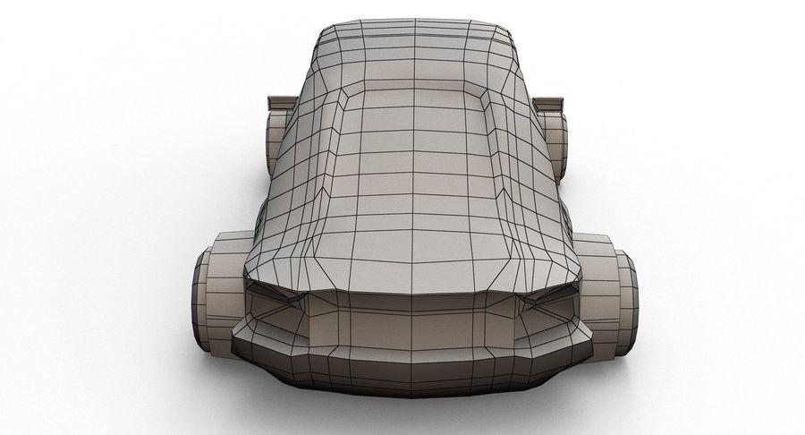 Cartoon Sport Car v.1 royalty-free 3d model - Preview no. 17