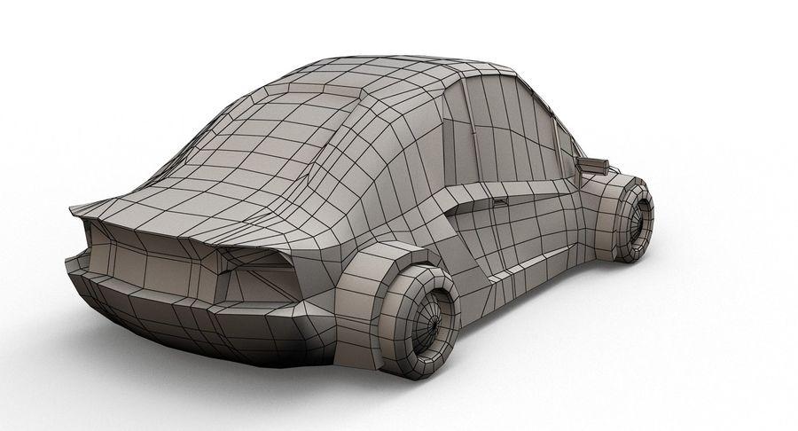 Cartoon Sport Car v.1 royalty-free 3d model - Preview no. 18
