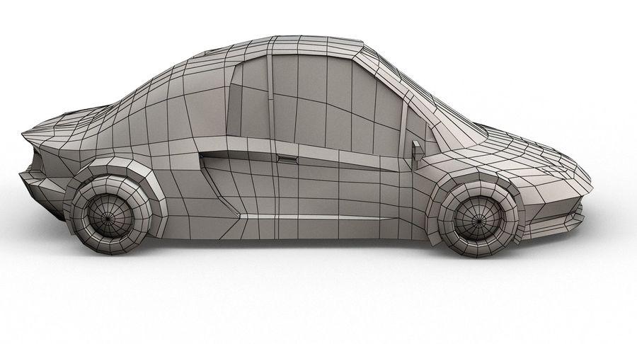 Cartoon Sport Car v.1 royalty-free 3d model - Preview no. 19