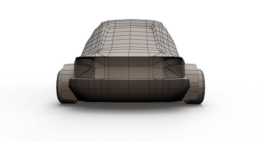 Cartoon Sport Car v.1 royalty-free 3d model - Preview no. 13