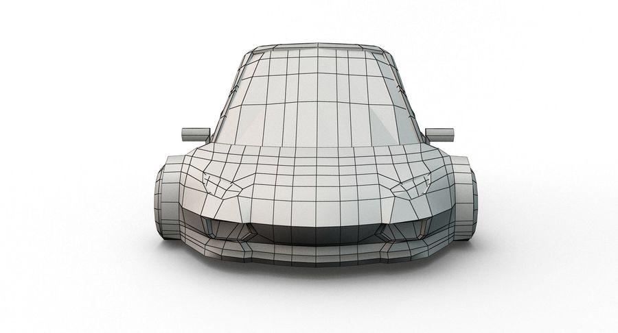 Cartoon Sport Car v.1 royalty-free 3d model - Preview no. 22