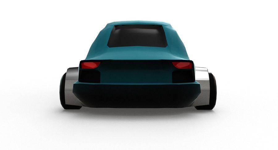 Cartoon Sport Car v.1 royalty-free 3d model - Preview no. 12