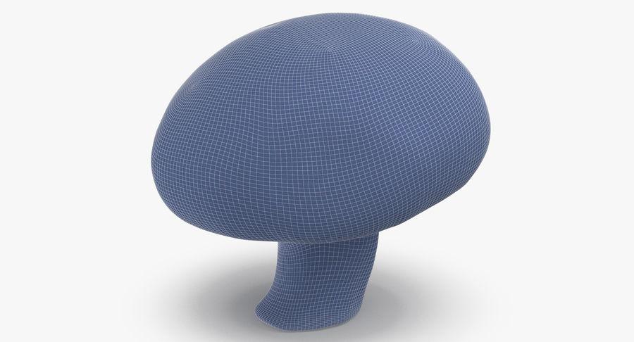 Paddestoel met witte knop 04 royalty-free 3d model - Preview no. 17