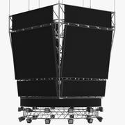 Tableau de bord de basket 3d model