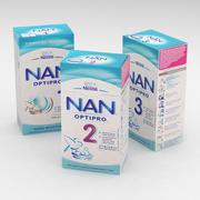 Nestle Nan Optipro 350g Boxes Collection 3d model