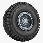 Mijnbouw vrachtwagen Liebherr wiel 01 3d model