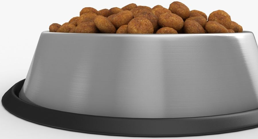 Bowl of Dog Food royalty-free 3d model - Preview no. 13