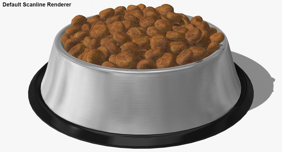 Bowl of Dog Food royalty-free 3d model - Preview no. 21