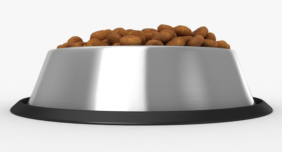 Bowl of Dog Food royalty-free 3d model - Preview no. 11