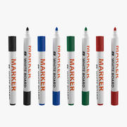Markers Collection 3d model