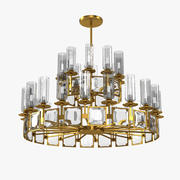 StilLux Strong 20631/10+5-TT Chandelier 3d model