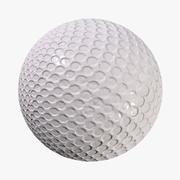 Blank Golf Ball 3d model