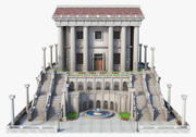Classic Greek Temple 3d model