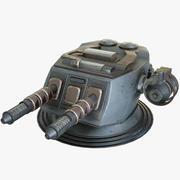 Sci-Fi Laser Turret Mk 2 3d model