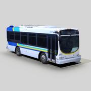 Optima LFB 29 transit otobüs 3d model