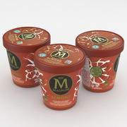Magnum Icecream Amandel 440ml 3d model