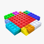 Ladrillo lego modelo 3d