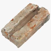 Gebroken steen 01 3d model