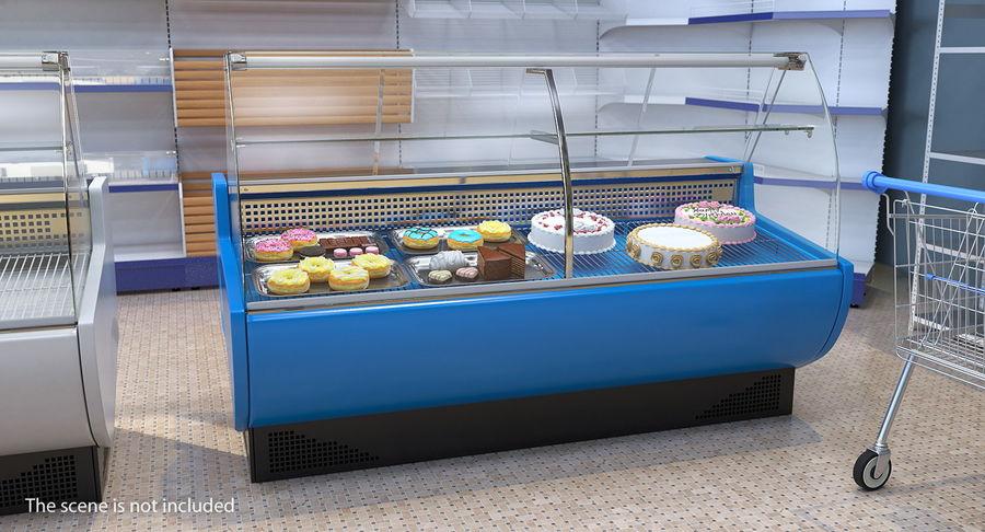 Supermarkt Lebensmittel Display royalty-free 3d model - Preview no. 3