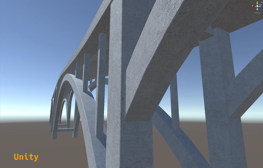 Modular Bridge royalty-free 3d model - Preview no. 11