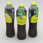 FuzeTea Ice Tea Lemon Lemongrass Bottle 1500ml 2019 3d model