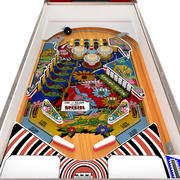 Wood's Queen Pinball 3d model
