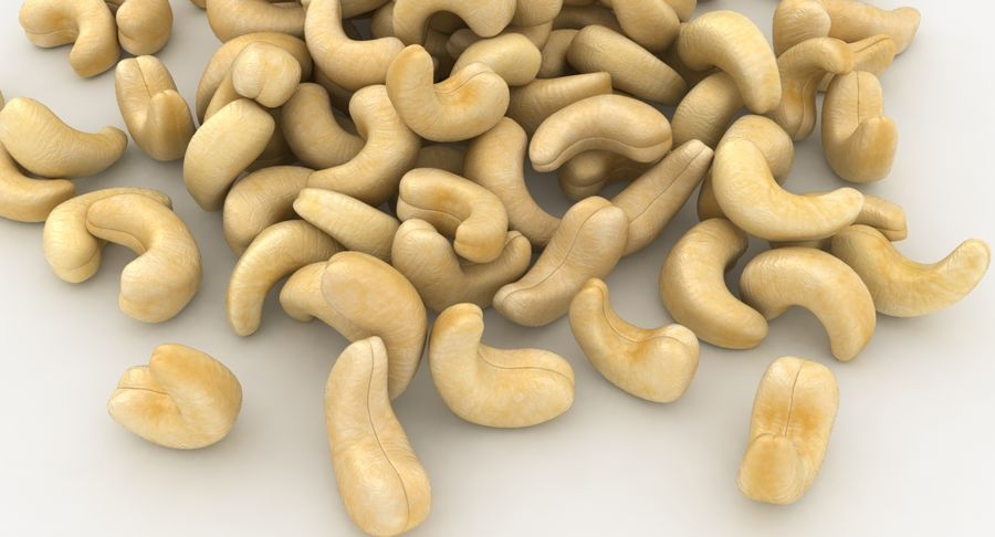 Cashew Pile royalty-free 3d model - Preview no. 9