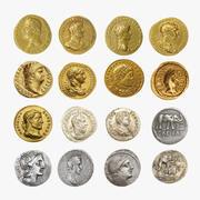 Roman Coins 3d model