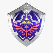 Hylian Shield PBRゲーム対応 3d model