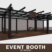 Stand per eventi 3d model