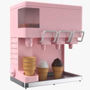 Ice cream Dispenser 3d model